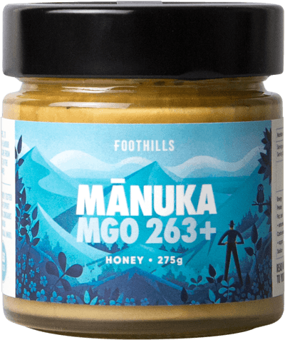 Manuka Honey UMF 10+ - Pure Manuka Honey MGO 263 from Foothills Honey
