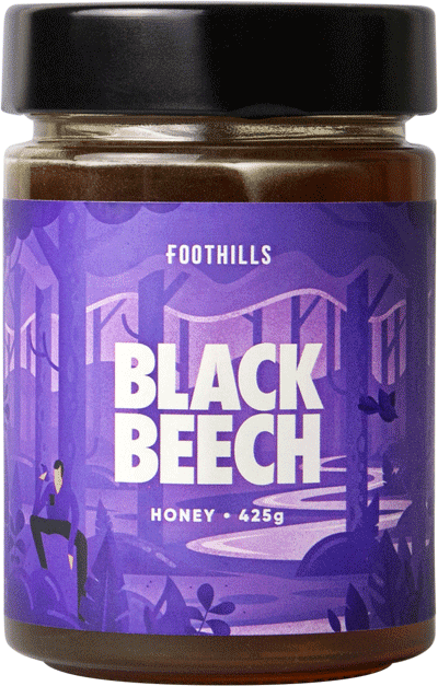 Black Beech Honeydew Honey by Foothills Honey