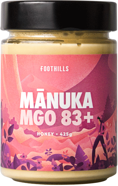 Manuka Honey UMF 5+ - Pure Manuka Honey MGO 83+ from Foothills Honey