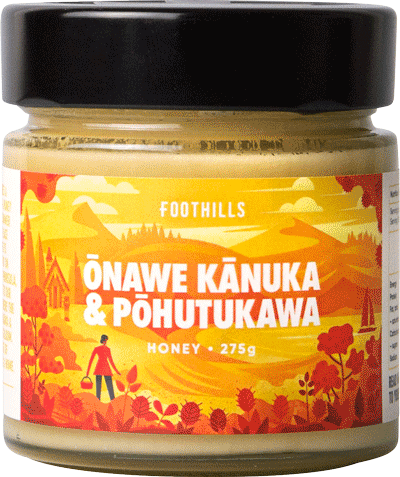 Onawe Kanuka & Pohutukawa Honey - Kanuka Honey Blend from Foothills Honey